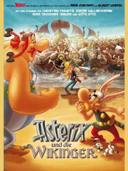 asterix and the vikings feature film poster